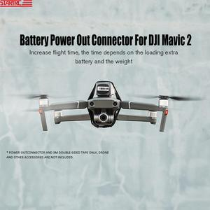 Image 1 - STARTRC Mavic 2 Battery Power Out Connector Battery Adapter Increase Flying Time / lights connect For DJI Mavic 2 Accessories