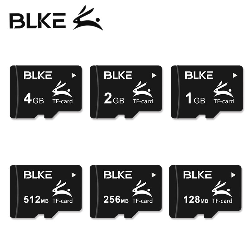 BLKE Micro carte sd tf carte mémoire 4GB 2GB 512MB 256MB 128MB carte TransFlash pour MP3/MP4 Mini haut-parleur carte mémoire Mobile