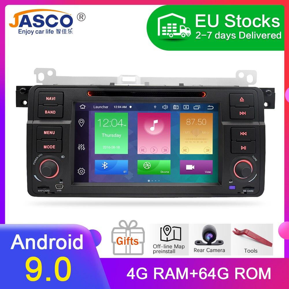 4G RAM Android 9,0 Автомобильный DVD стерео мультимедиа головное устройство для BMW/E46/M3/Rover/3 серии Авто радио GPS навигация Видео Аудио