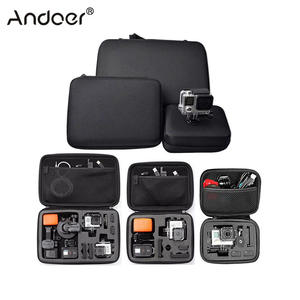 Andoer Portable Action Camera Case Protective Case for GoPro Hero Sport Camera Accessory