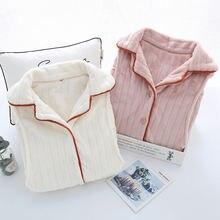 Осенне зимняя фланелевая утепленная одежда для сна xifer беременных