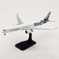 18.6 Cm 1:400 Schaal Airbus 350 A350-1000 Airlines Vliegtuigen Vliegtuig Vliegtuigen W Landingsgestellen Legering Model Speelgoed Collectie