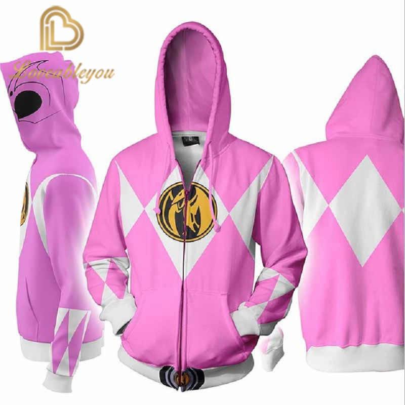 2020 Rits Hoodies 3D Hoodie Sweater Vrouwen Harajuku Cosplay Hoodies Mannen En Vrouwen Tops