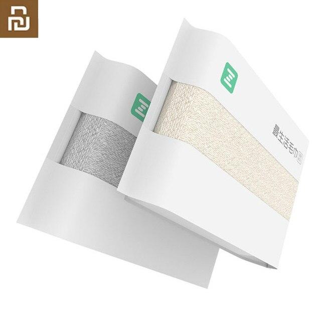 Asciugamano antibatterico originale Youpin ZSH in fibra di cotone asciugamani assorbenti 4 colori 34*72cm asciugamano da bagno viso morbido uso familiare