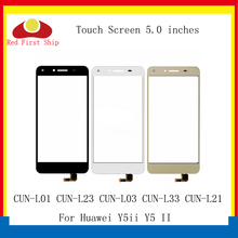 цена на 10Pcs/lot Touch Screen For Huawei Y5ii Y5 II Touch Panel Sensor Digitizer Front Glass Outer CUN-L01 CUN-L23 CUN-L03 TouchScreen