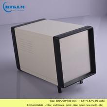 Iron box for electronics project box DIY junction box metal equipment box enclosure housing instrument case 300*200*180mm