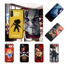цена на NBDRUICAI HORROR CURSE OF CHUCKY CHILD'S PLAY Phone Case Cover for iPhone 11 pro XS MAX 8 7 6 6S Plus X 5S SE XR case
