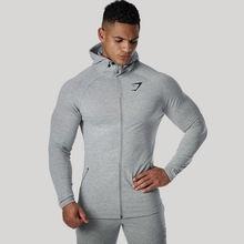 Для тренажерного зала мышц спортивная куртка для бега сжатия