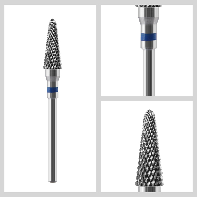 Tungsten Carbide Nail Drill Bit Cutter For Manicure Machine Carbide Electric Nail Drill Milling Cutter For Nail File Accessories 2