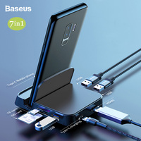 USB Type C Dex HUB Docking Station For Samsung S10 9 Note10+ 9 Pad Station USB C to HDMI Power Adapter For Huawei Mate20 30 Pro