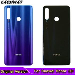Оригинальный корпус для Huawei honor 10i, задняя крышка аккумулятора, дверь, заднее стекло, корпус, чехол для Huawei Honor 10i, крышка аккумулятора, телефон