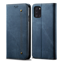 For Samsung Galaxy A31 A51 A71 M31 Case Fabirc Wallet Magnetic Flip Phone Cover For Galaxy A31 Cover PU leather Coques butterfly wallet leather case for samsung galaxy a71 4g cover luxury flip case