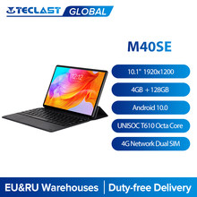Teclast – tablette Android 10.1 de 1920 pouces M40SE, 1200x10.0, Octa Core, 4 go de RAM, 128 go de ROM, réseau 4G et appel, double SIM, type-c, 2MP et 5MP, GPS