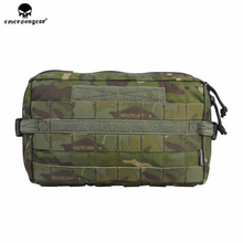 emersongear Emerson EDC Utility Drop Pouch Molle Multi-Functional Military Hunting Compact Pouch 500D Cordura Nylon emerson tactical combat chest recon kit bag emersongear military multi purpose utility accessories concealed carry pouch
