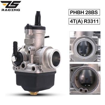 ZS-carburador de carreras para motocicleta, 28mm, Dellorto, PHBH, 28BS, 4T(A), R3311, 50cc-250cc