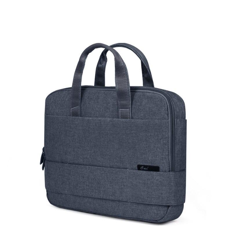 CAI Men Classic Briefcase Laptop Book Shoulder Bag Handbag School Office Boy Bags Crossbody Sling Tote Male JP Style Business