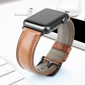 Image 4 - MAIKES Correa para Apple Watch, 44mm, 40mm, serie iWatch 4, 3, 2, 1, banda para Apple Watch de 42mm y 38mm, accesorios para reloj, pulsera