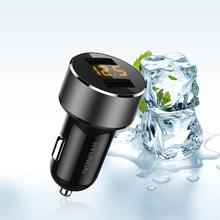 Современное автомобильное зарядное устройство 3.6A двойной Usb быстрая зарядка автомобильного прикуривателя Автомобильное зарядное устройство умная Защита от перенапряжения