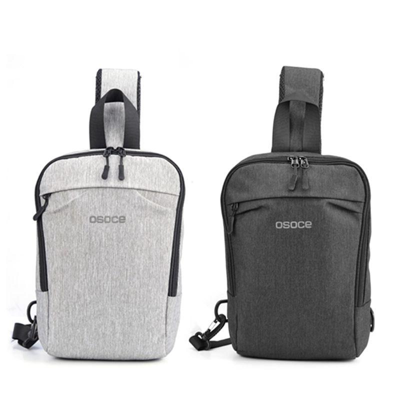Anti-theft Men/'s Sling Bag Camping Travel Crossbody Shoulder Chest Pack