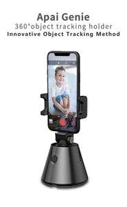 Image 3 - 360 derece telefon tutucu standı otomatik yüz nesne izleme akıllı çekim kamera Selfie sopa rotasyon YouTube canlı akışı Vlog