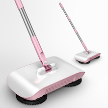 купить Lazy Hand Push Sweepers Set Home Sweeper Broom Dustpan Handheld Dust Collector Indoor Outdoor Hard Floor Cleaning Vassoura по цене 1232.18 рублей