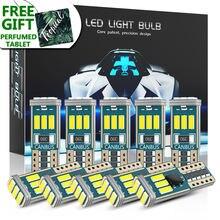 Dxz 10 шт w5w t10 Светодиодный лампочки canbus 9 smd 12v 6000k