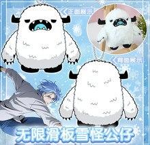Porte-clés dessin animé SK huit SK8 the Infini Snow Langa, poupées en peluche, bonhomme de neige mignon, jouets de dessin animé, porte-clés sac, cadeaux Cosplay 10cm