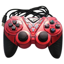 Wired Vibration Gamepad PC USB Controller Joystick Android Game Handle Double Shock for Computer Laptop Support Win/XP for Mac plastic vibration wired game controller usb computer gamepad joystick for windows pc