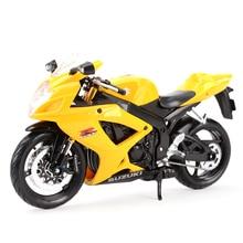 Motorcycle-Model-Toys Die-Cast-Vehicles Maisto Suzuki GSX-R600 1:12 Collectible Hobbies