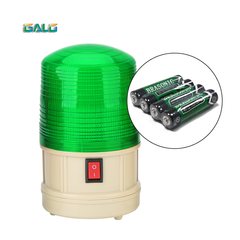 GALO LTD-5088 Dry Battery Flash Light Mine Alarm Magnet Ceiling LED Strobe Warning Light Outdoor Alarm Light