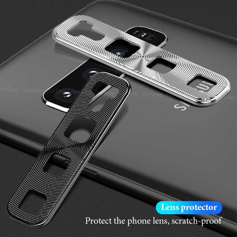 Metal Camera Cover Protector For Samsung Galaxy S10e S10 Plus Aluminum Hard PC Protection Ring Camera Cover For Galaxy A30 A50