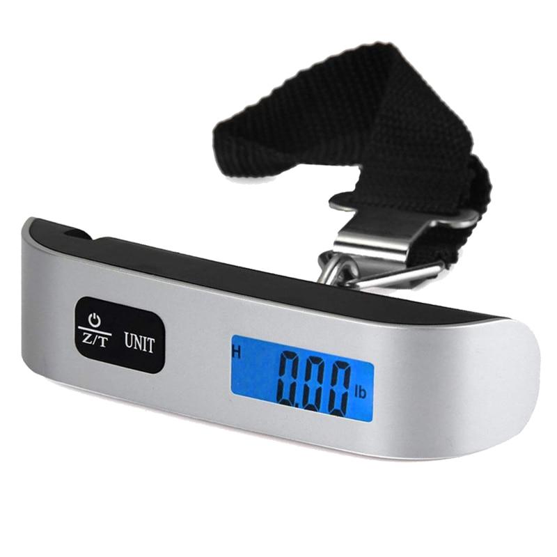 Цифровые Мини-весы для багажа для рыбалки, путешествий, чемодана, электронного шкала подвесного крючка, кухонный инструмент-3