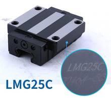 1pc original taiwan csk bloco de guia linear lmg25h