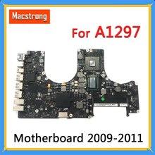 """테스트 A1297 MacBook Pro 17 """"2009 2010 A1297 로직 보드 2.53GHz 820 2849 A 661 5472 2011 2.2GHz 820 2914 B"""