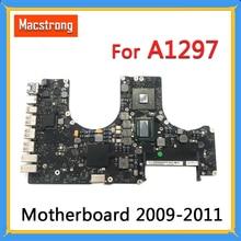 "Getest A1297 Moederbord voor MacBook Pro 17 ""2009 2010 A1297 Logic Board 2.53GHz 820 2849 A 661 5472 2011 2.2GHz 820 2914 B"