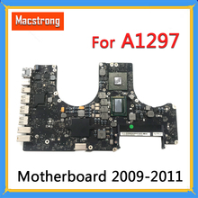 "Tested A1297 Motherboard for MacBook Pro 17"" 2009 2010 A1297 Logic Board 2.53GHz 820 2849 A 661 5472 2011 2.2GHz 820 2914 B"