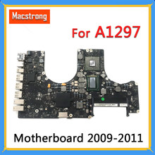 "Tested A1297 Motherboard for MacBook Pro 17"" 2009 2010 A1297 Logic Board 2.53GHz 820-2849-A 661-5472 2011 2.2GHz 820-2914-B(China)"