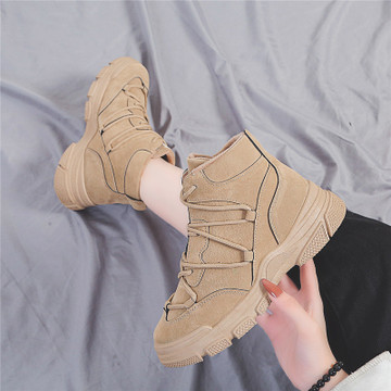 2019 new wild England wind Martin boots thick-soled boots net red casual shoes women 28