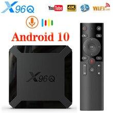 VONTAR X96Qสมาร์ททีวีกล่องAndroid 10 4K Allwinner H313 Quad Core 2GB 16GB YoutubeชุดTop TVBOX Android 10.0 Media Player