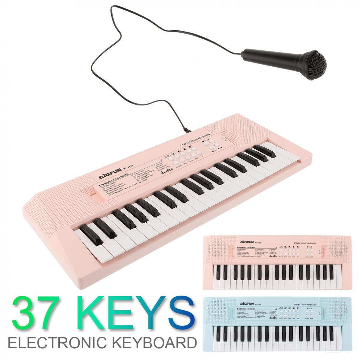 37 teclas de teclado eletrônico piano placa
