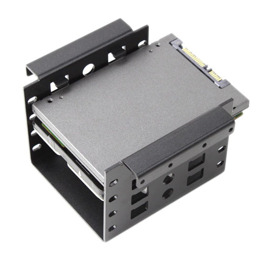 салазки hdd 2.5inch <font><b>to</b></font> 3.5inch Hard Drive Adapter Mounting Bracket Dock SSD Tray Holder салазки для ssd салазки для hdd ноутбука image