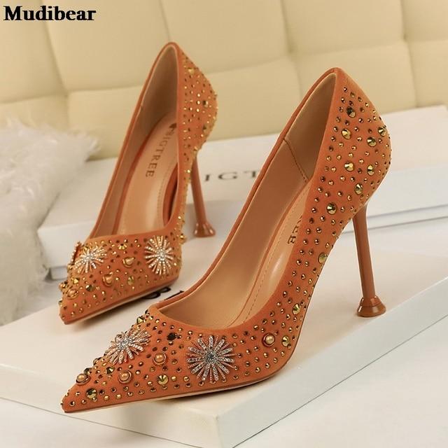 Купить туфли mudibear женские на танкетке свадебные туфли лодочки заостренный картинки цена