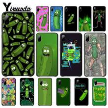 yinuoda rick and morty mr pickles rick newest super cute phone cases for iphone 8 8plus 7 7plus 6s 6splus xsmax x xs xr Yinuoda Rick Morty Pickle Rick Mobile Phone Case For Iphone 5s Se 6 6s 7 8 Plus X Xs Max Xr 11 Pro Max Telephone Accessories