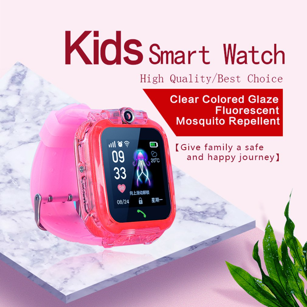 Smart Watch Q360 Ds64 for Kids with Camera GPS WIFI Location Child smartwatch SOS Anti Lost Monitor Tracker baby WristWatch in Smart Watches from Consumer Electronics