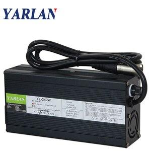 58,4 в 4A интеллектуальное зарядное устройство LifePO4 для батареи 16S 48 В Lifepo4