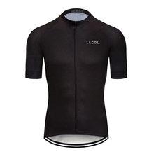 LECOL Cycling Jersey Tops Summer Racing Cycling Clothing Ropa Ciclismo Short Sleeve mtb Bike Jersey Shirt Maillot Ciclismo