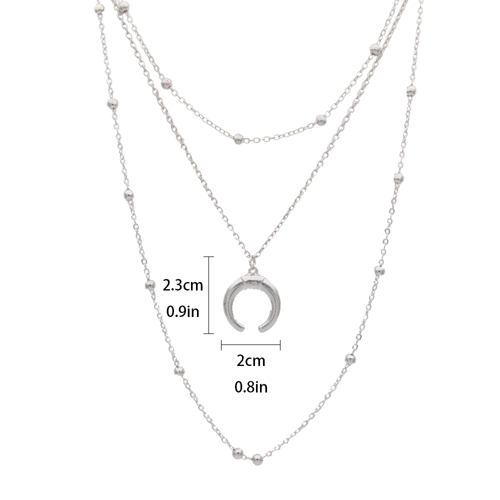 Fashion Trendy Gold Silver Face Pendant Necklace For Women 19 Metal Personality Geometry Oval Human Facial Wink Chain Necklace 2