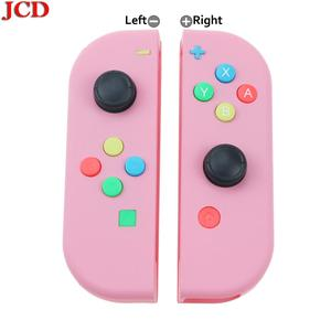 Image 2 - Сменная Крышка корпуса JCD для Nintendo for Switch for Joy Con Controller с отверткой, джойстиком и клавишной кнопкой