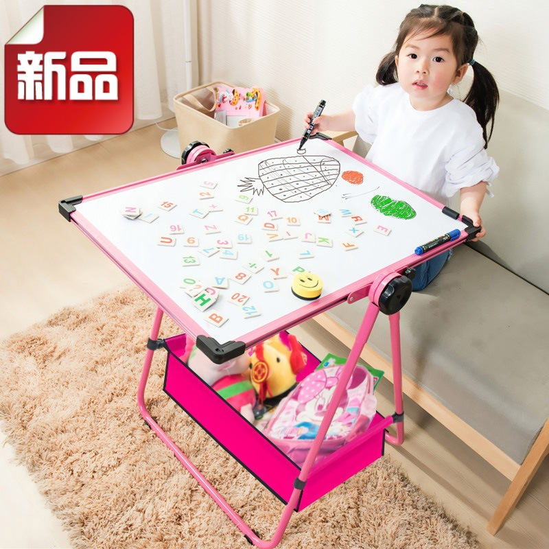 Drawing Board Braced Young STUDENT'S Blackboard Baby Kids Young CHILDREN'S Household Magnetic Whiteboard Pen Write
