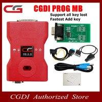Admite todas las teclas perdidas CGDI Prog MB para BENZ  añadir la clave más rápida a través de OBD CGDI MB con adaptador de reparación ELV y simulador ELV MB envío gratis